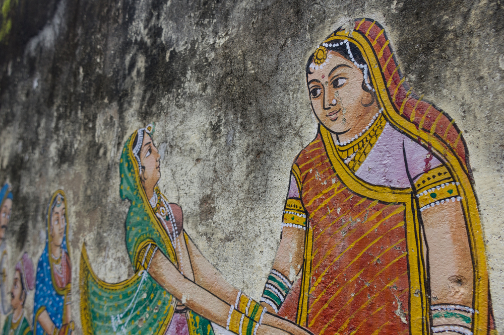 Udaipur is full of amazing murals everywhere. Some nice characteristics to some of the old blown out paint jobs too.