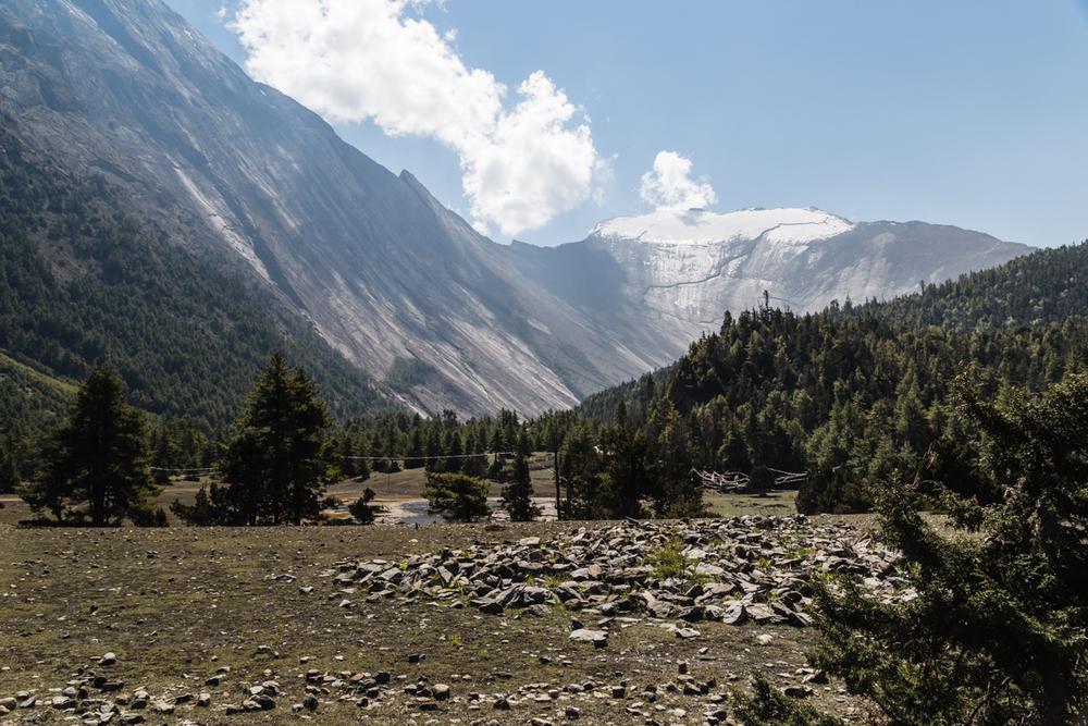 Paungi Danda slope.