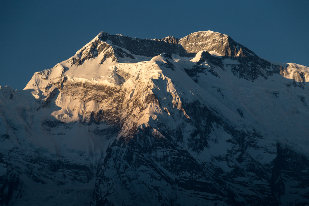It's easy to get up for sunrise when you have Annapurna II to look at.