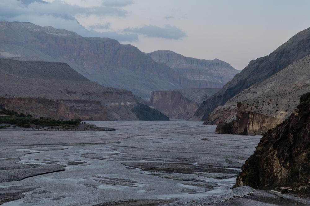 Kali Gandaki riverbed.