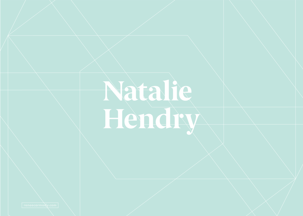 Logo, brand and website design   Natalie Hendry   VIEW PROJECT