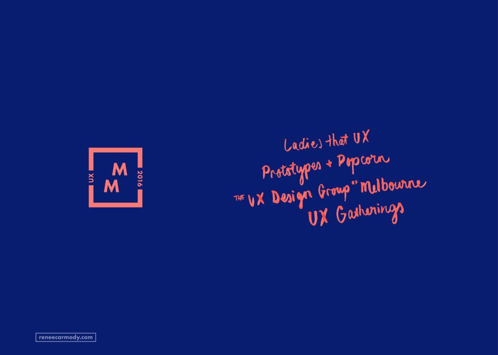 Logo and brand design for Mega Meetup by Renée Carmody Design. reneecarmody.com