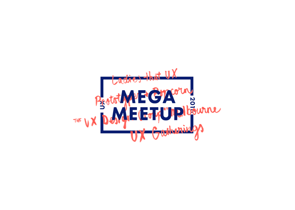 Logo and brand design   Mega Meetup   VIEW PROJECT