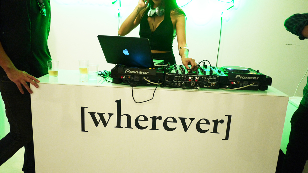 [wherever magazine launch party, Leila Heller Gallery]