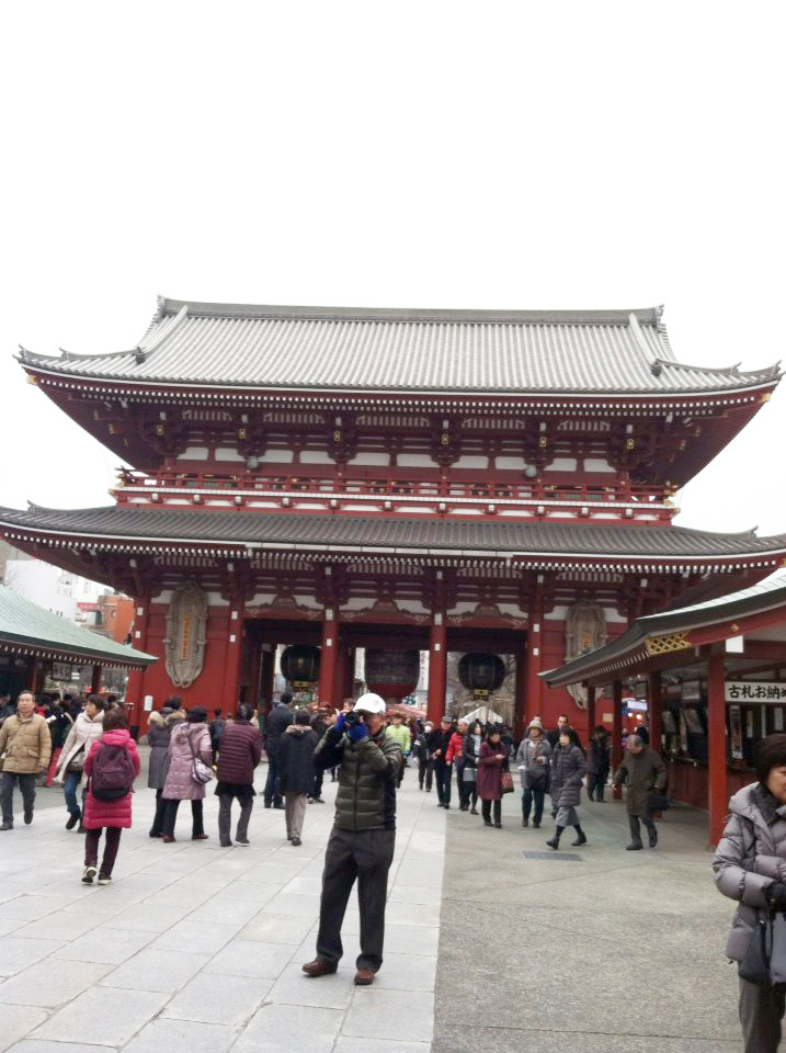 [Asakusa- Jinja Shrine]