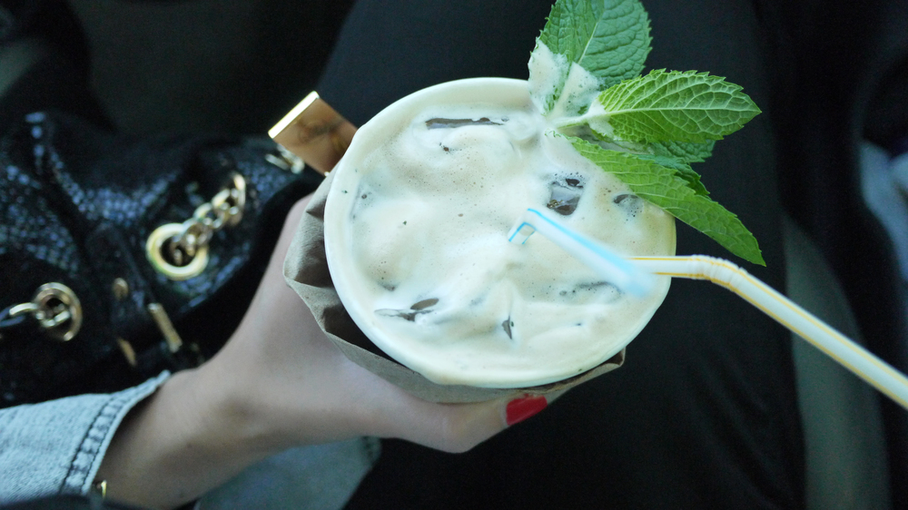 [Mint Mojito Iced Coffee, Philz Coffee, Berkeley, CA]