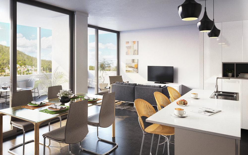 Living Room 11 Raffles St Artist Impresion by Volume Vision.jpg