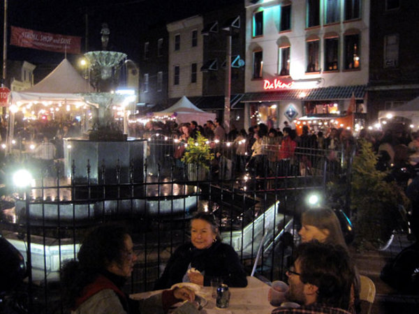 Philly Farmers Market at Night!
