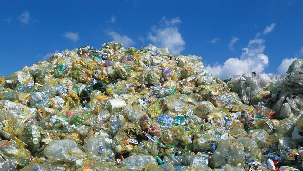 """Technology and other industries have made the word more """"visual"""" BUT most people do not consider what plastic looks like when it is discarded - it looks and smells terrible!"""