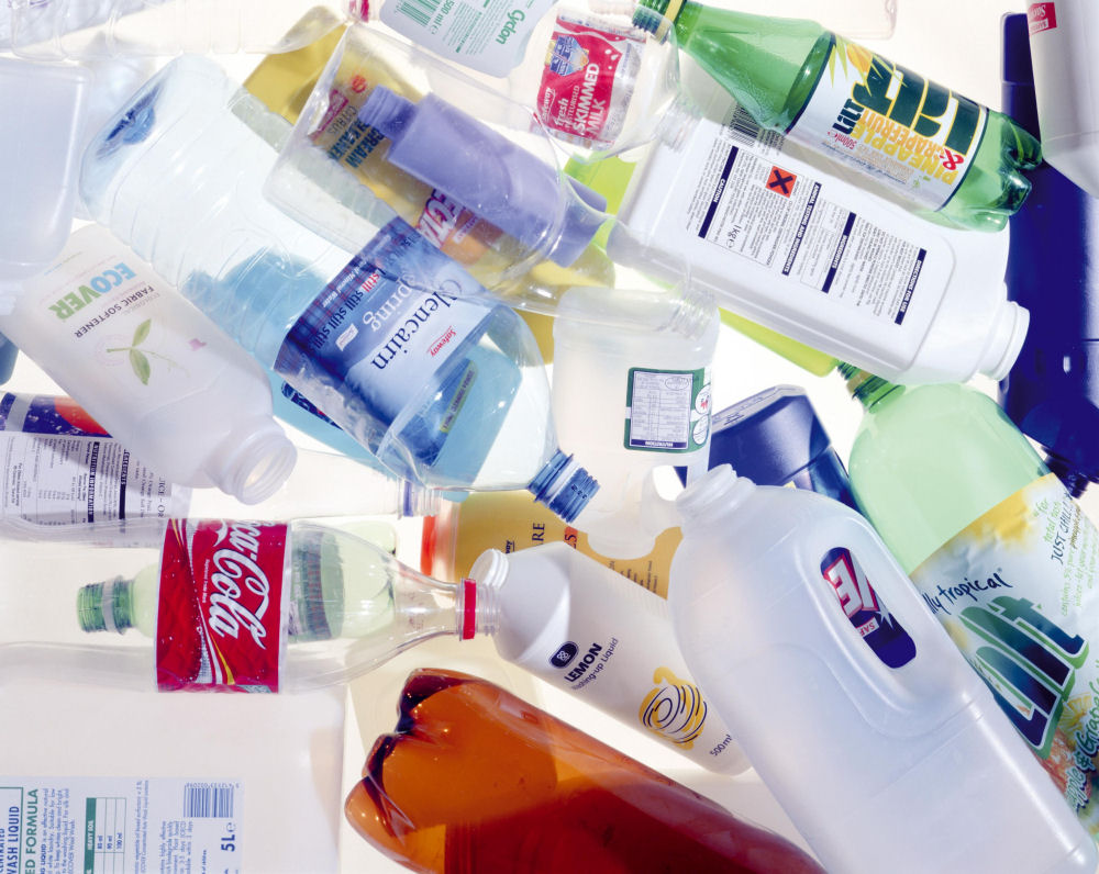 Almost all containers which contain liquid ( lotion , water, juice etc ) are made of plastic - great to mass market bad for the environment! SO come up with a better solution - you will be WEALTHY:) and a global hero!
