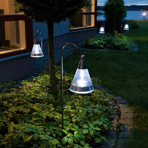"""Solar lighting is a green way to """"get lit"""" Lights come in many sizes and designs and fit all budgets."""