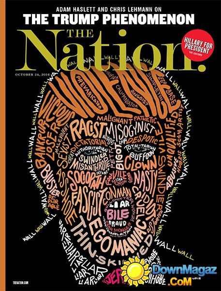 The Nation Mag Oct 2016 - Trump