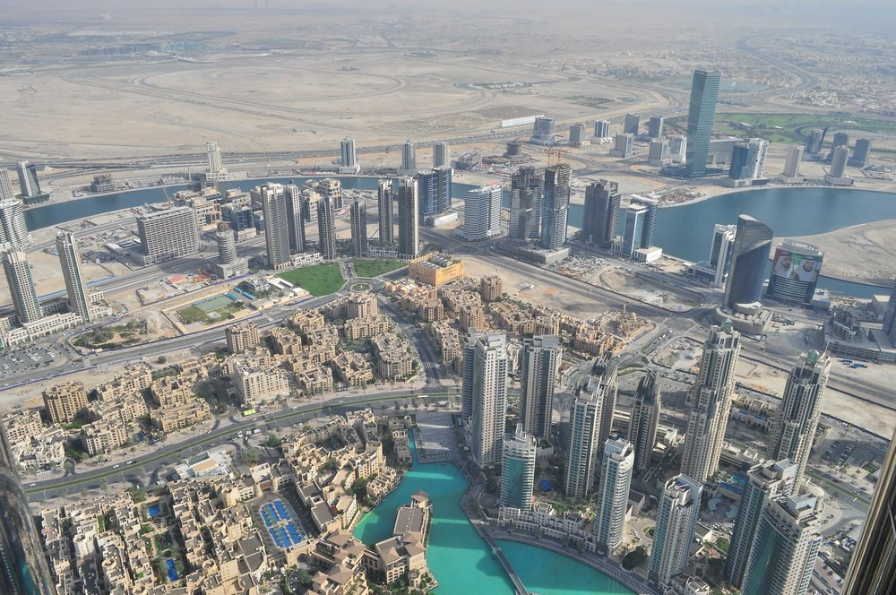 Dubai City in the Desert MIT 2009