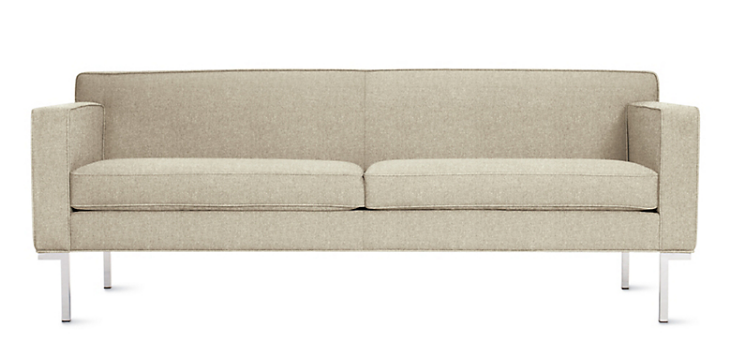Two seat theatre sofa Design Within Reach