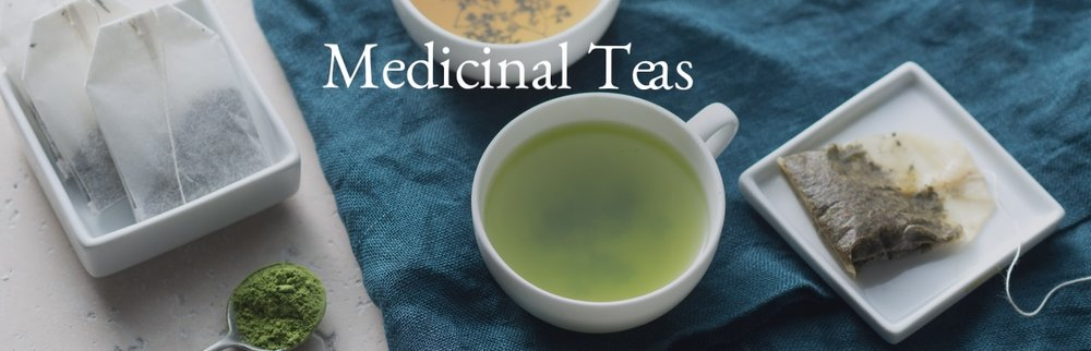 Medicinal Tea Banner Thrive