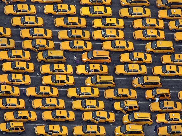 City Cabs Converge NYT Store