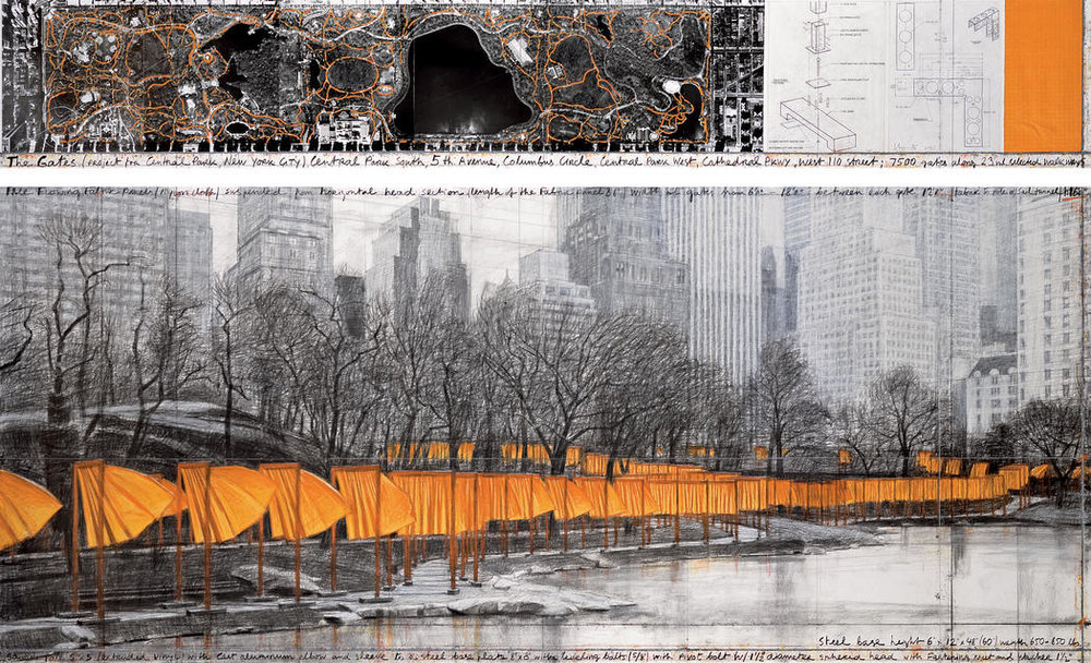 The Gates Project Central Park NYC by Christo - NYT Store