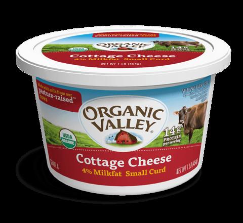 Organic Valley Cottage Cheese Bestowed