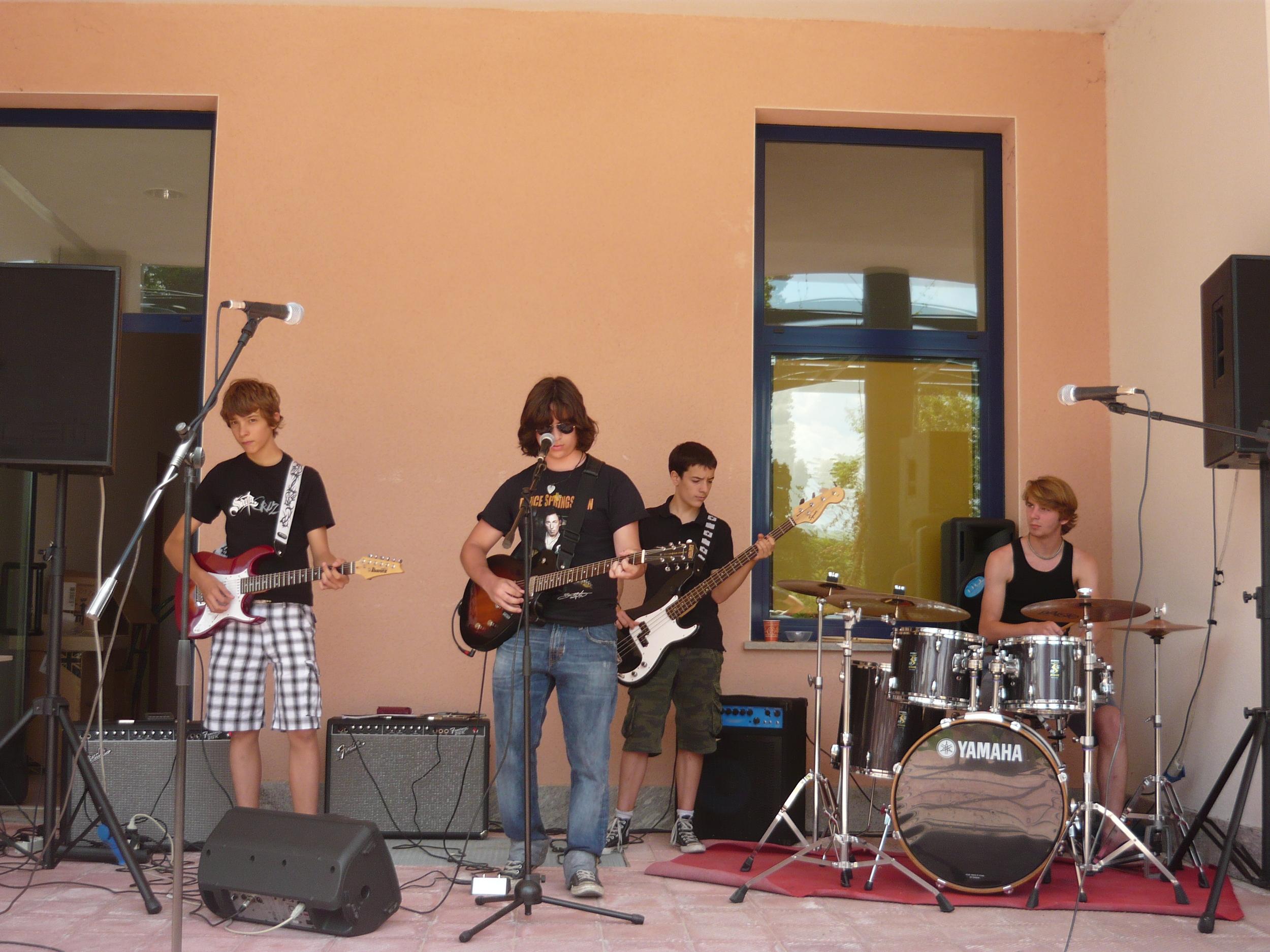 New Deal: Giulio, Simo, Fabio, Samu