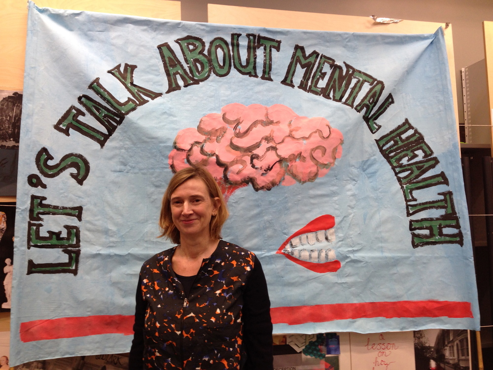 Jeremy Deller inspired banner for the Sorrell Foundation Saturday Club