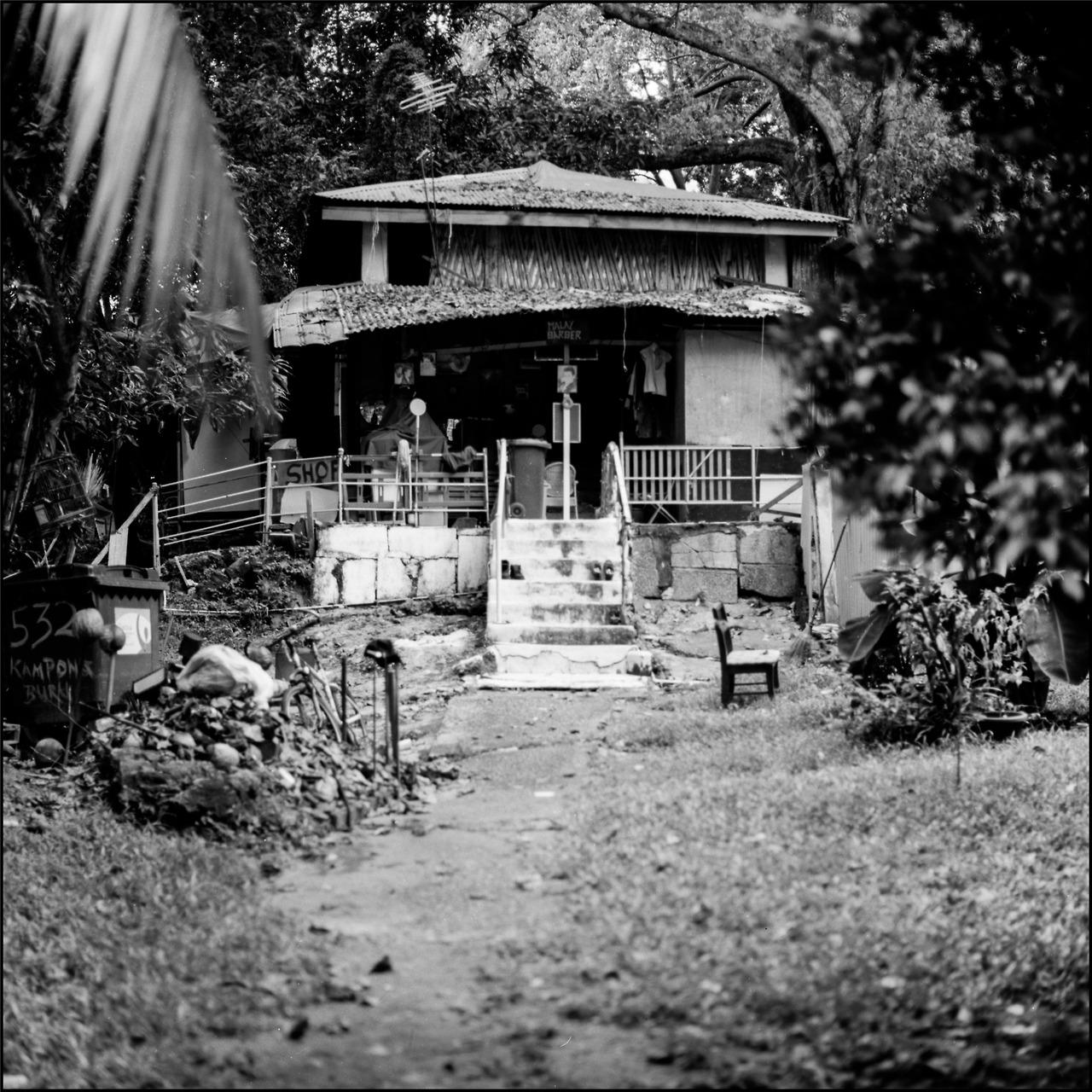 Malay Barber, Bukit Purmei Road, Singapore, 2012.    Callan Tham