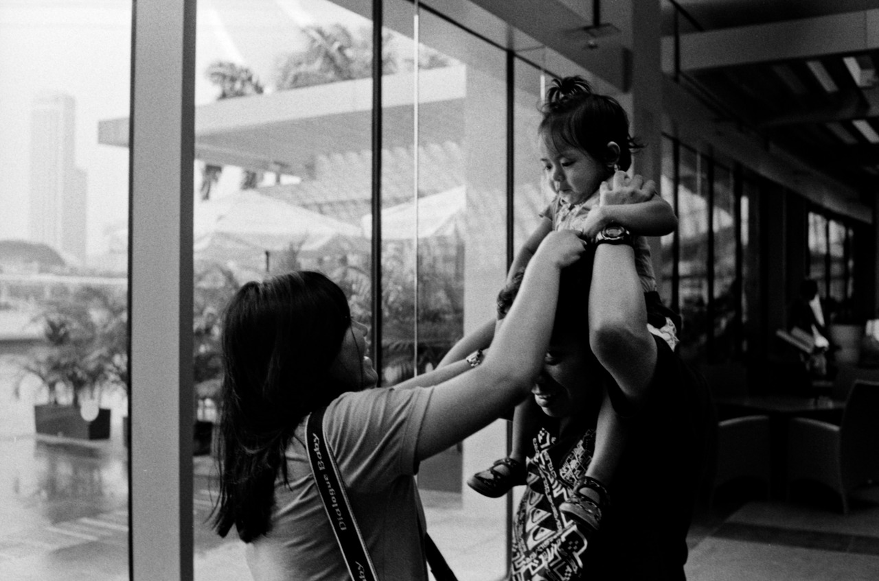 """Handing over""   © Callan Tham 2012. All rights reserved."