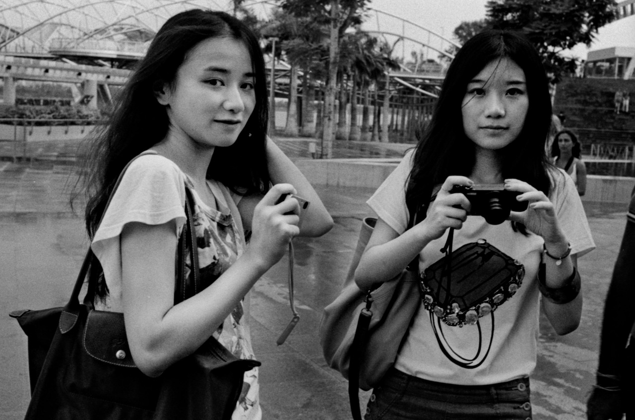 """Sisters""   © Callan Tham 2012. All rights reserved."