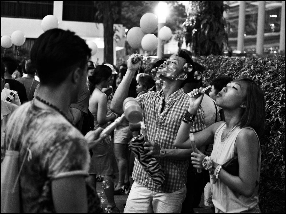 Pink Dot SG 2013, Hong Lim Park, Singapore.   Callan Tham