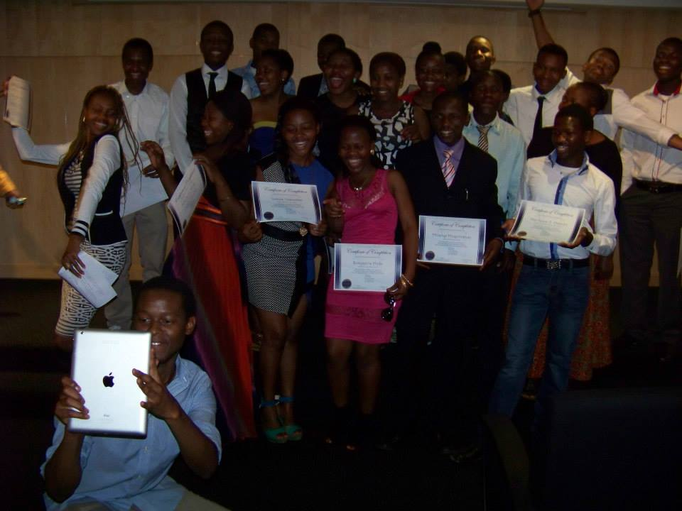 2014 Fellows' graduation - Swaziland Young Leaders Fellowship Program