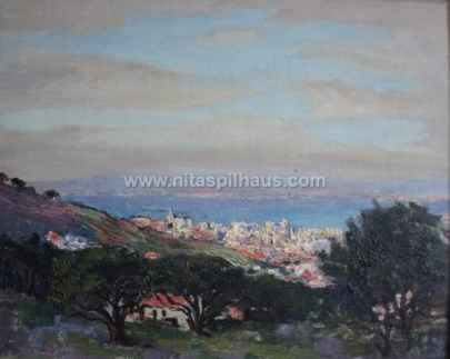 View from Signal Hill Oil on canvas 40 x 60 Collector 5