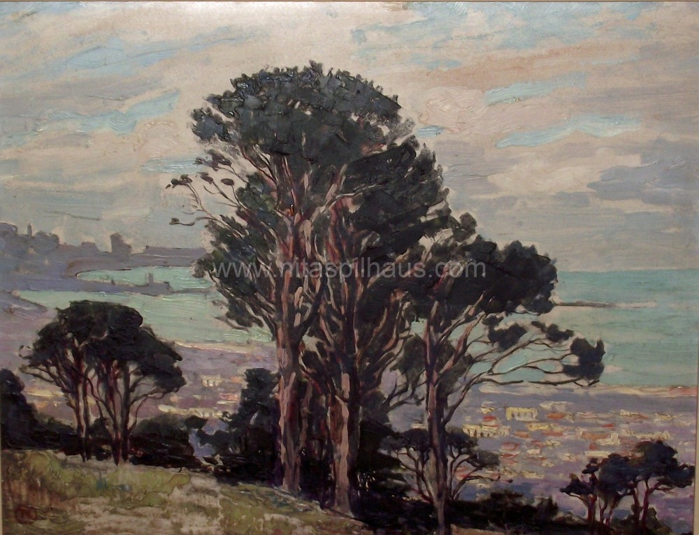 Table Bay, Oil on board, 31.5 x  41 cm, Collector 48