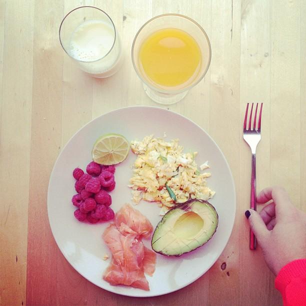#prettybreakfast 💖