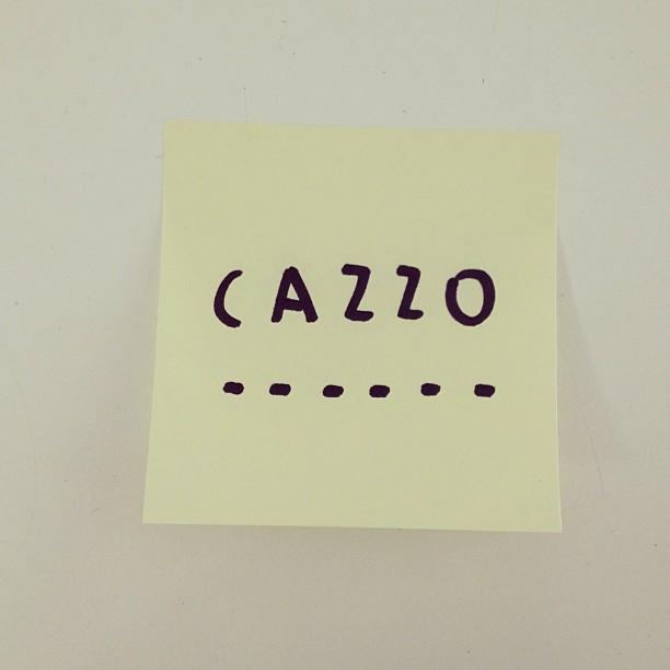 #cazzo