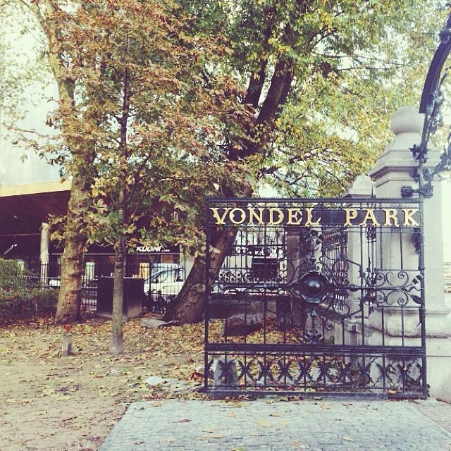 #vscocam #vondelpark #masiautumn  (at Vondel)