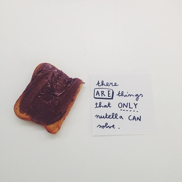 #breakfast #nutella #vscocam #masifont