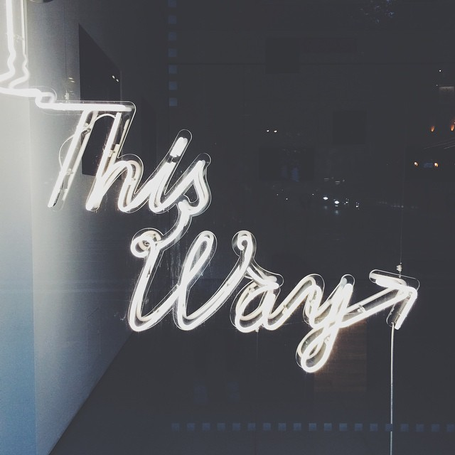 #thisway #vscocam  (at University of the Arts London News)