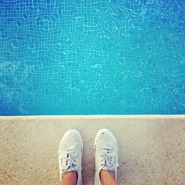 #pool #mallorca #superga #ilovemyjob