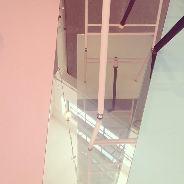 #pinkturqouise #venturalambrate #milano