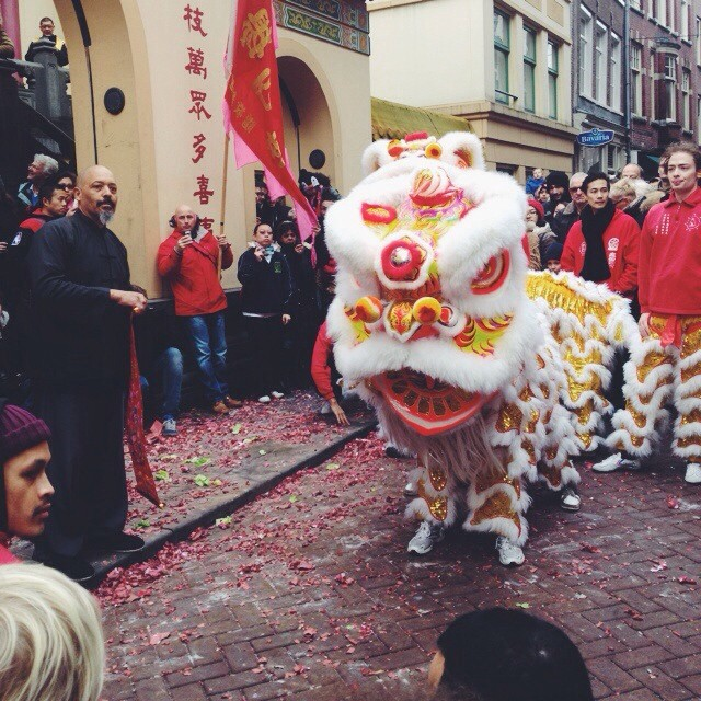 #vscocam #chinesenewyear #amsterdam (at Chinatown Amsterdam | 阿姆斯特丹唐人街)
