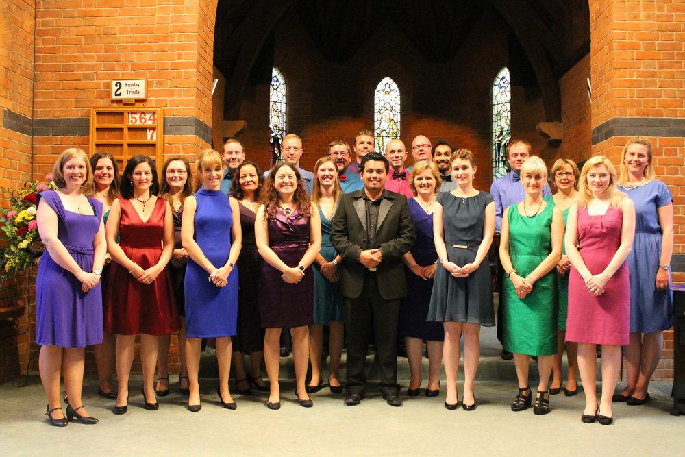 Mosaic Chamber Choir and conductor, Benjamin Gaughran.jpg