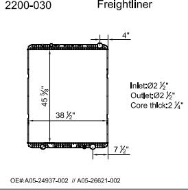 200030?format=300w freightliner radiators radiator center radiators for sale in houston