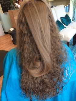 It's amazing what a blow dryer and a round brush can do!  Cut/Style by Marc Rolleri