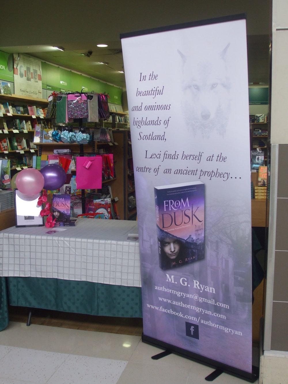 Author banner