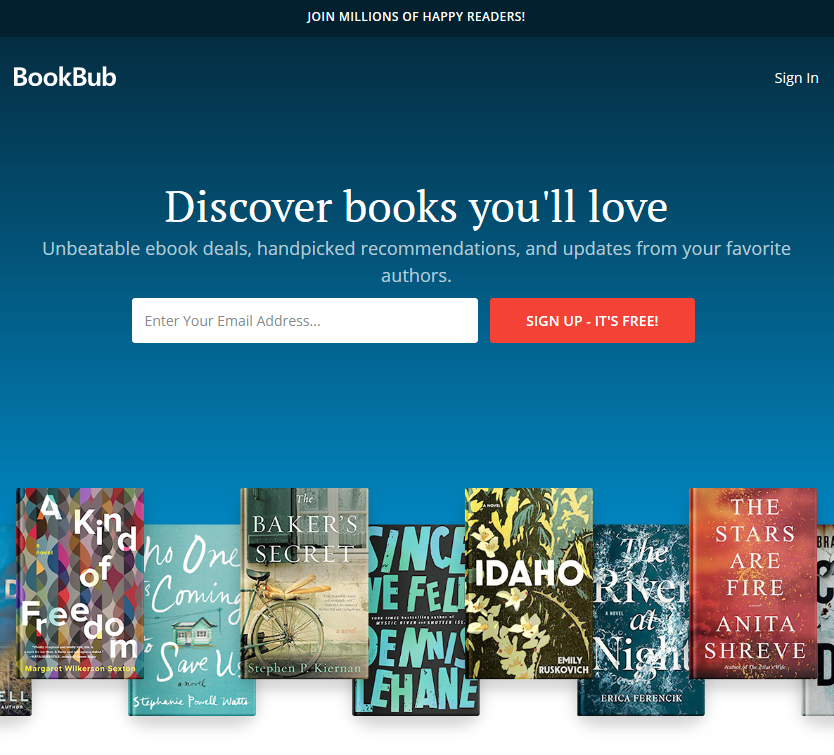 Bookbub's Effectiveness — A Report from an Author