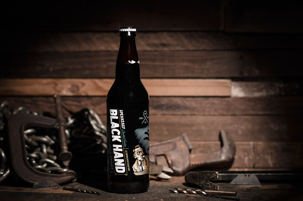 Black Hand Chocolate Milk Stout - JPG (Print) / JPG (Web)
