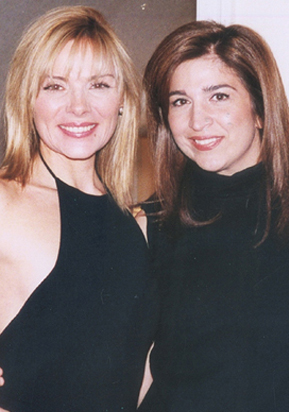 Kim Cattrall and Remona Soleimani