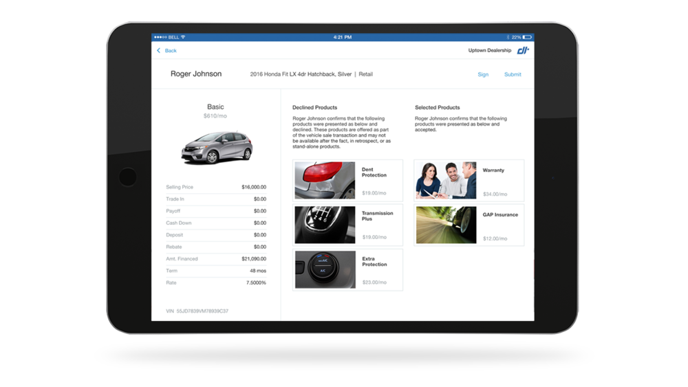 Product Summary View