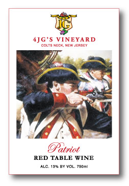 Everyone loves a Patriot! Winner at Prestigious 2015 San Francisco Chronicle Wine Competition!