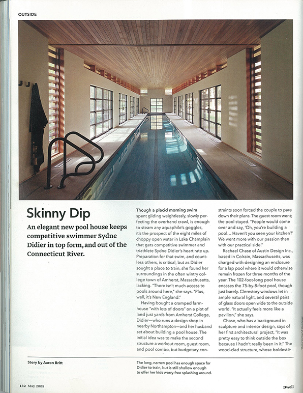 DWELL MAGAZINE MAY 2008