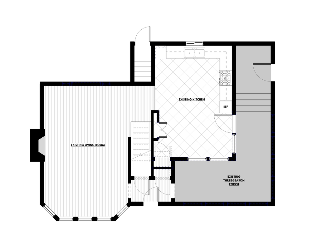 FLOOR PLAN: BEFORE